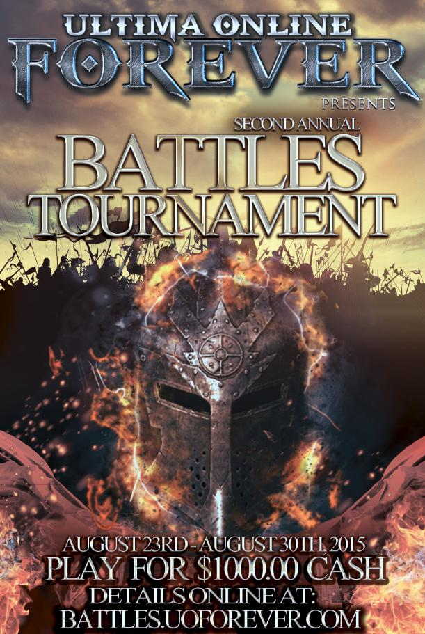 uo forever templates - uoforever 2nd annual battles tournament 7 days of